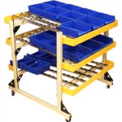 Hubbell Workplace Solutions Mobile Carts